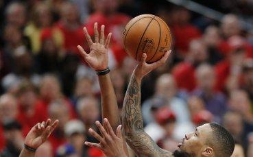 Как Голдън Стейт занули Портланд във финала на Запад в НБА