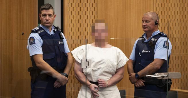 Свят Обвиниха в тероризъм стрелеца от Нова Зеландия Това решение