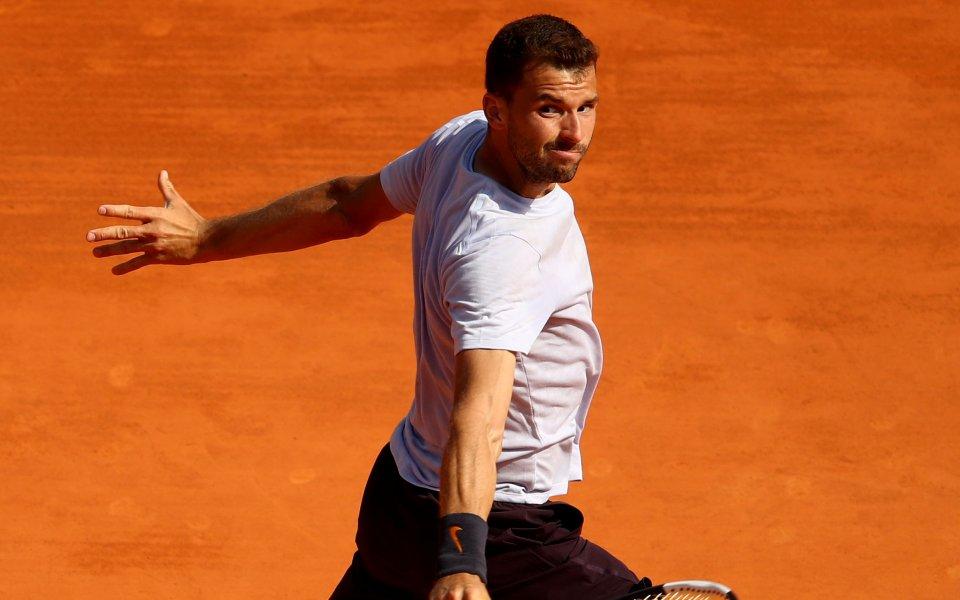 Първата ракета на България в мъжкия тенис Григор Димитров очаква