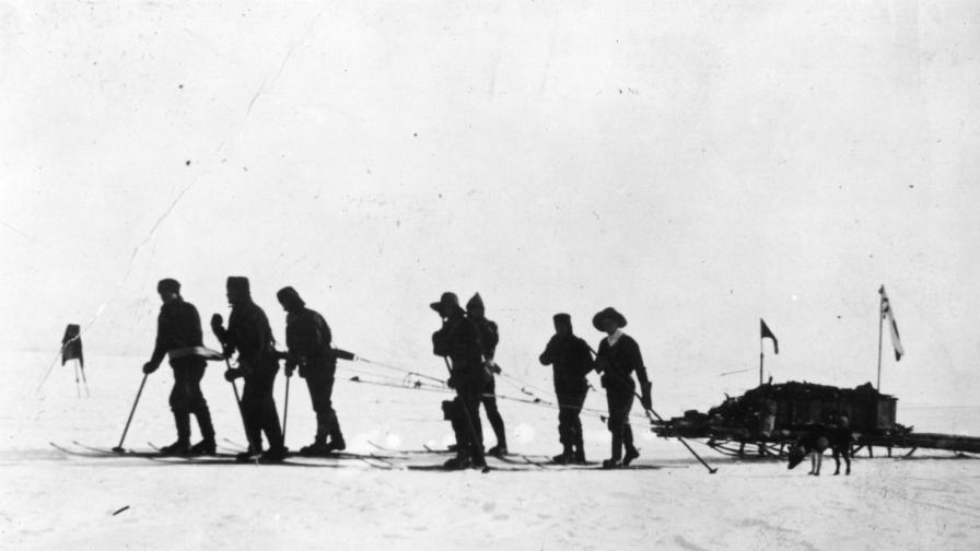 капитан Скот експедиция Антарктида Южния полюс