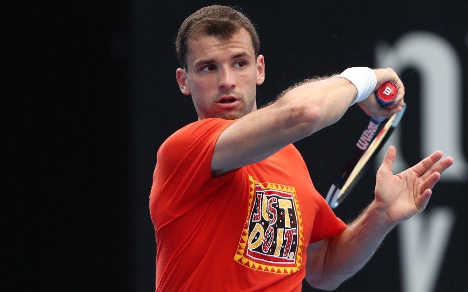 Най-добрият български тенисист Григор Димитров преодоля квалификациите, но отпадна в