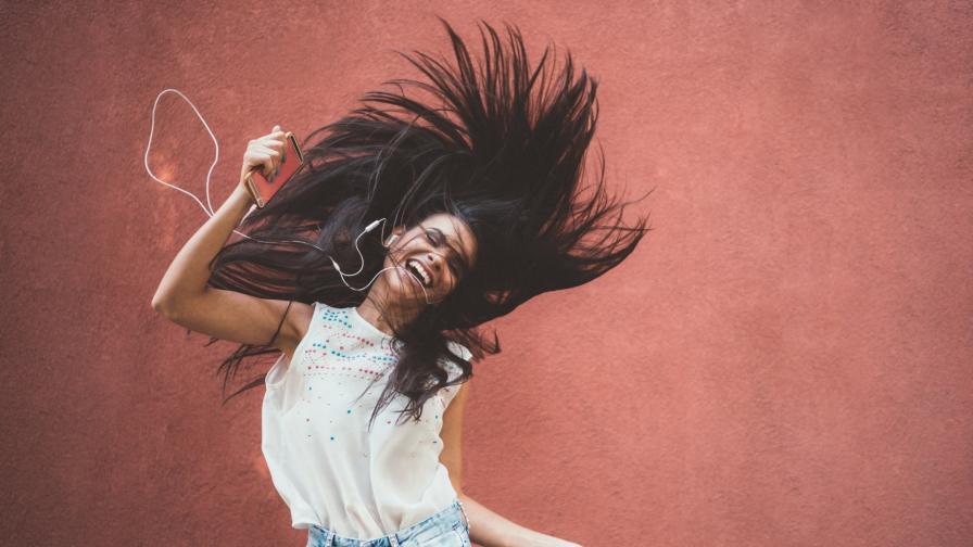коса момиче щастие