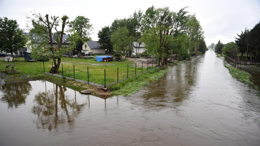 Наводнения в Полша след проливните дъждове