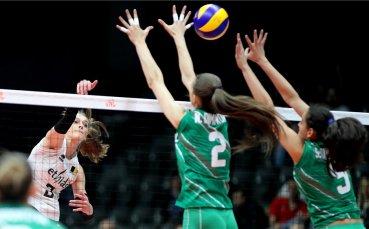 България с нова загуба във волейболната Лига на нациите