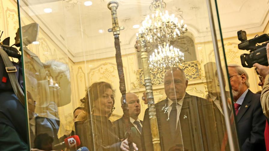 Борисов: Ще говорим за отливка на меча на хан Кубрат