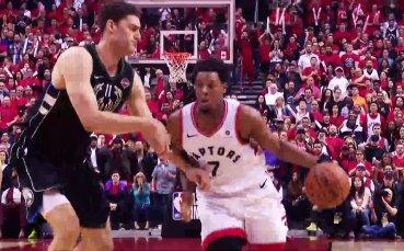 Репортаж от историческото класиране на Торонто на финала в НБА