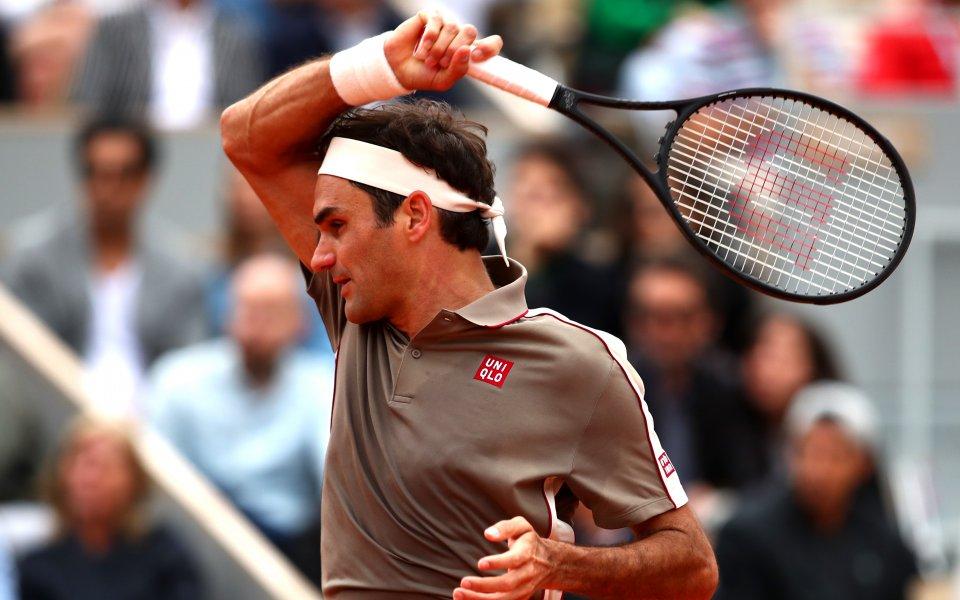 Без мъки: Федерер, Циципас и Нишикори напред на Ролан Гарос