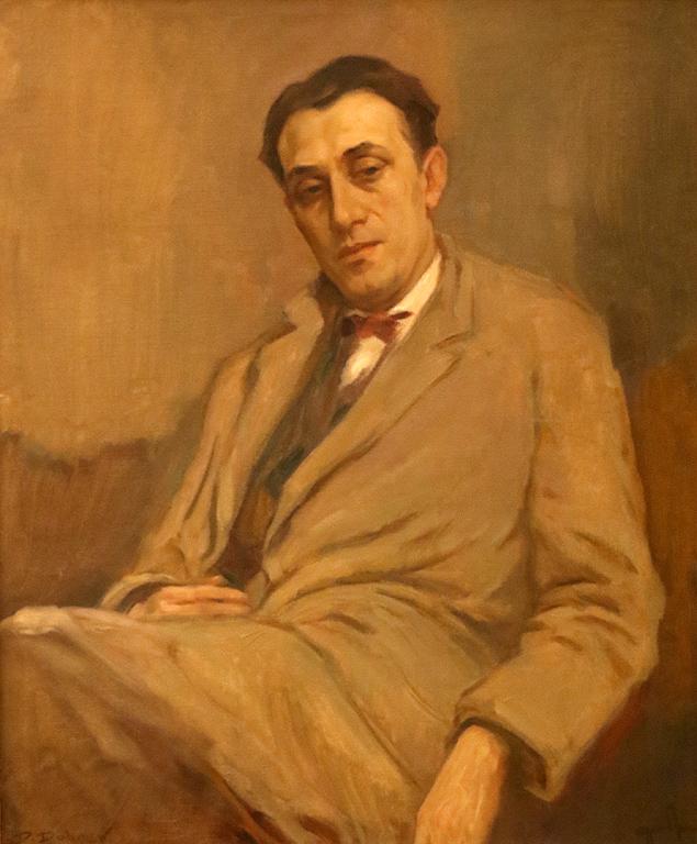 Портрет на художника Дечко Узунов 1927