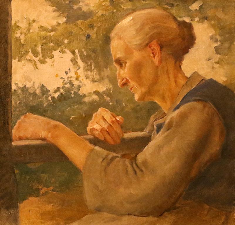 Майката на художника 1925