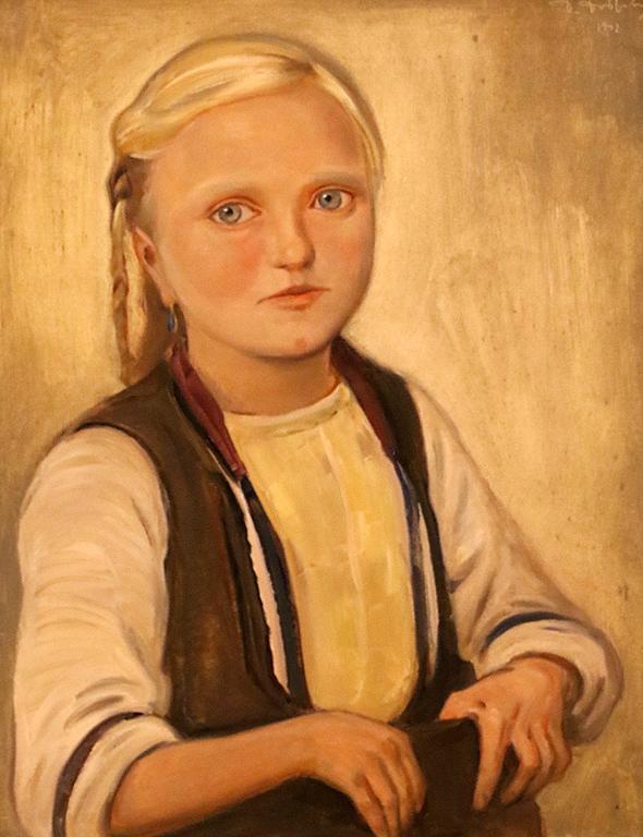 Момиченце от Битолско 1942