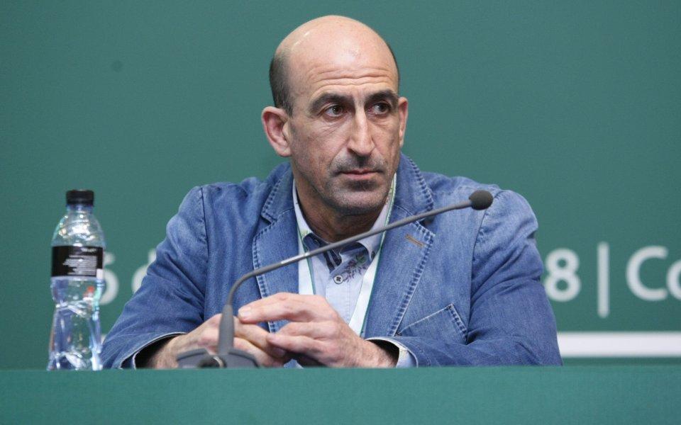 Вицепрезидентът на БФС Йордан Лечков отново категорично отрече да е