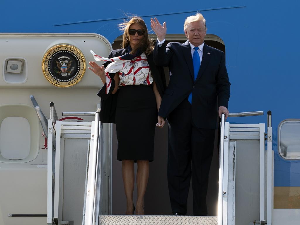 Преди още да кацне американският президент критикува кмета на Лондон Садик Хан, с когото е имал сблъсъци в миналото.