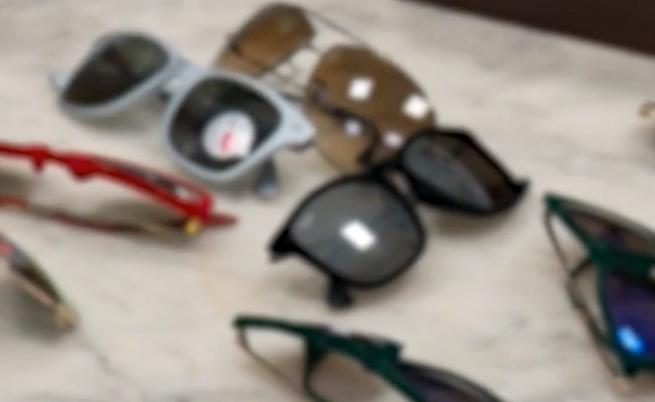 Задържаха китайски очила, вредни за очите