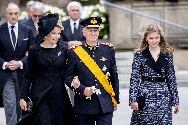 Принцеса Елизабет Белгийска, 17-годишна.<br /> Принцеса Елизабет, херцогиня на Брабант, е най-голямата сред децата на краля на Белгия Филип и съпругата му Матилда.