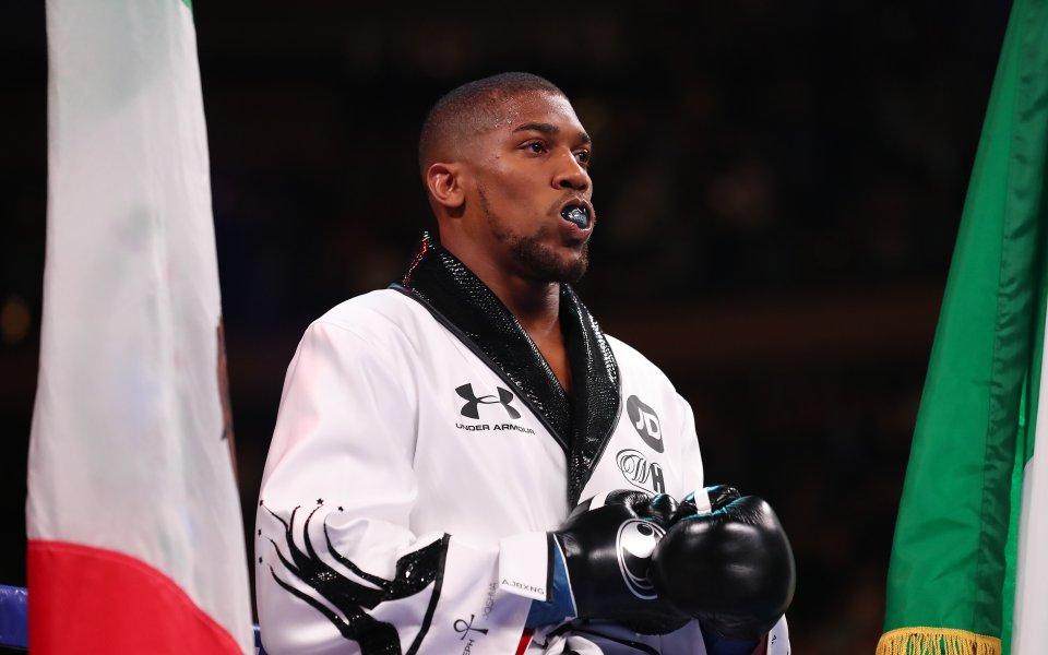 Джошуа: Никой няма право да ми казва кога да се откажа от бокса