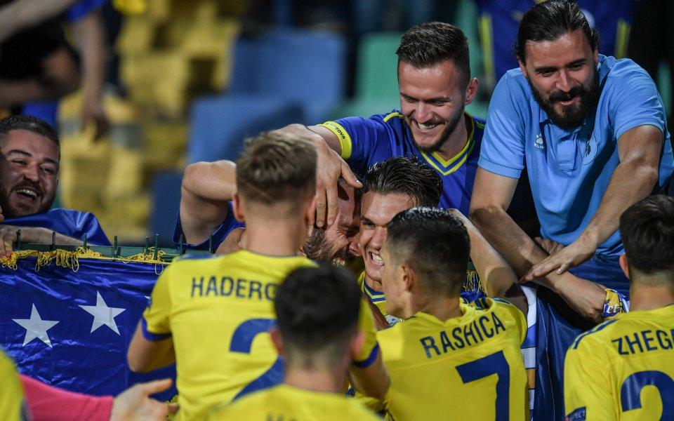Косово хвърли бомбата в първия мач от евроквалификациите