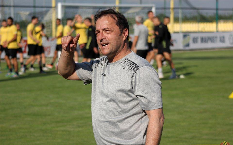 Желко Петрович: Трябват ни още нови играчи