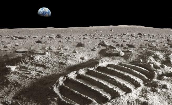 Откриха мистериозно петно от тъмната страна на Луната