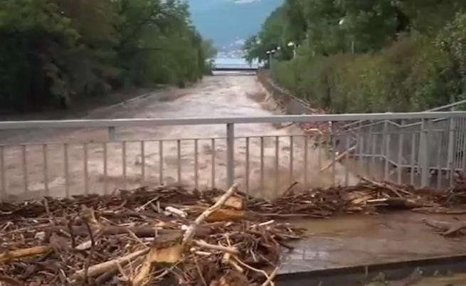 Потоп на север, горещини на юг в Италия