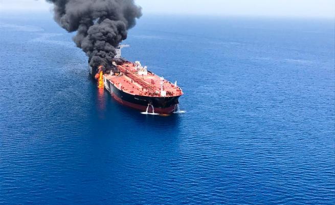 Американски дрон заснел ирански кораби до танкерите