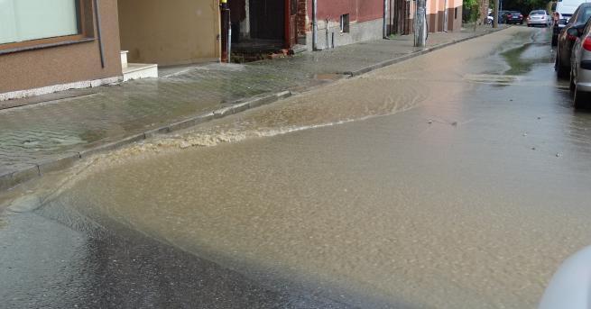 Свят Дъжд наводни Благоевград Освен силния дъжд имаше и бурен