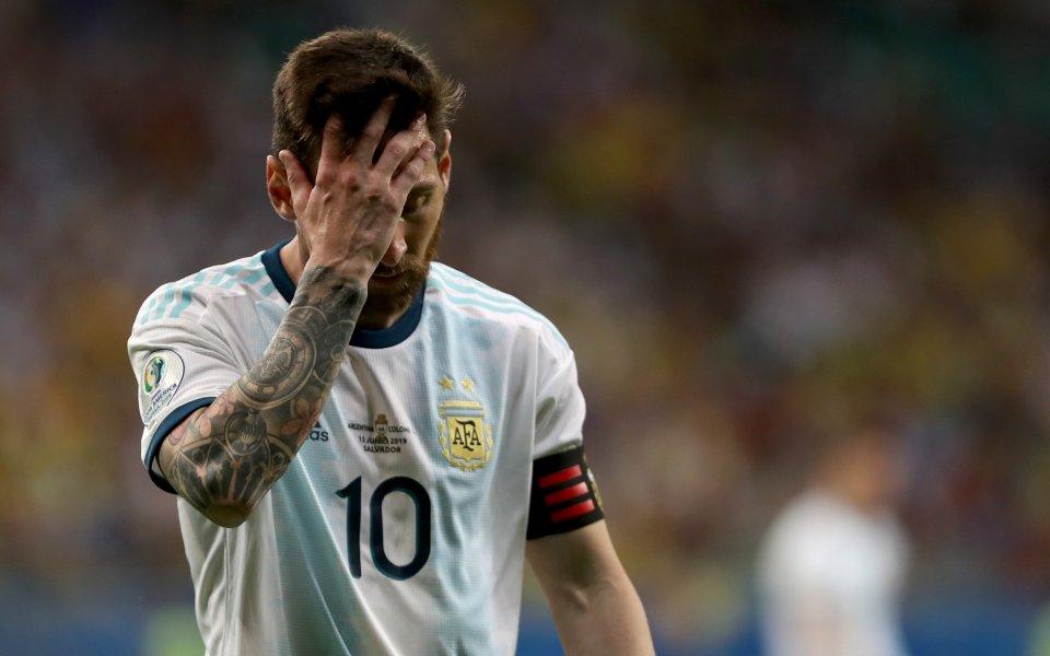 Голямата звезда на аржентинския национален отбор Лионел Меси заяви след