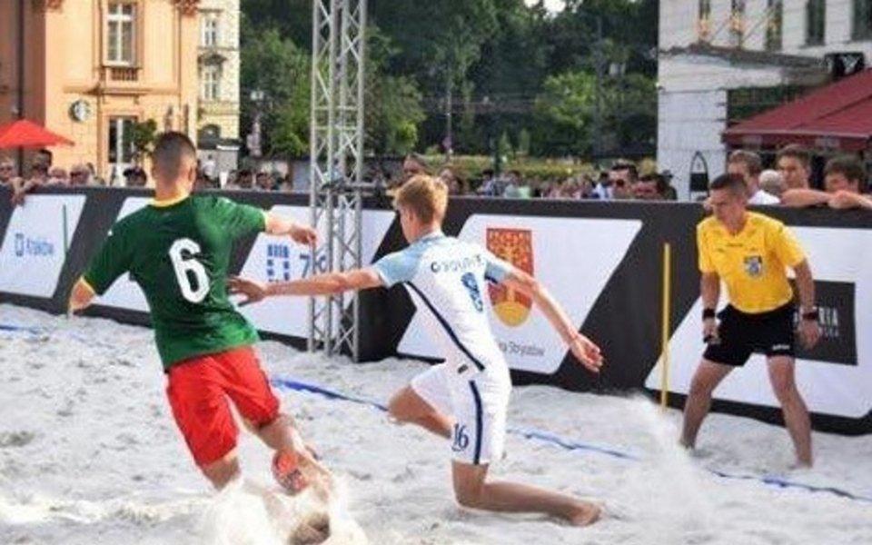 Националният отбор на България по плажен футбол записа изключително престижна