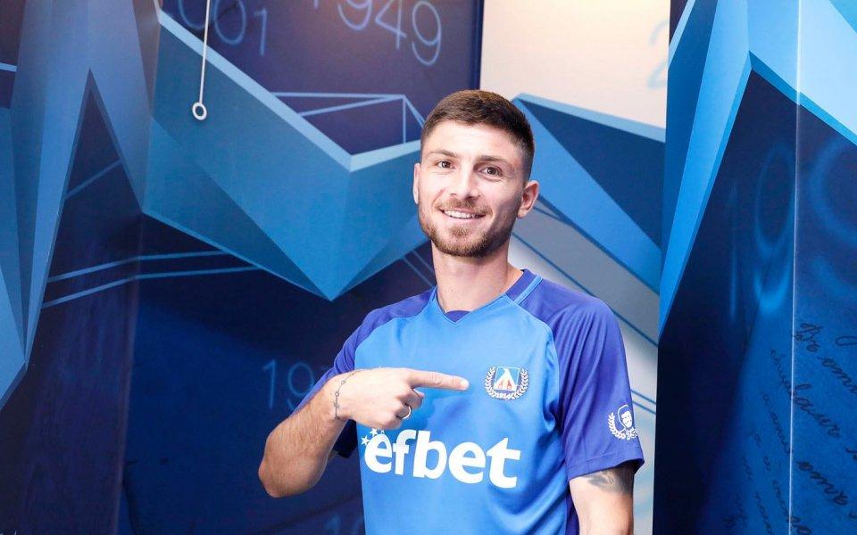 Хубчев доволен от гръцкия защитник