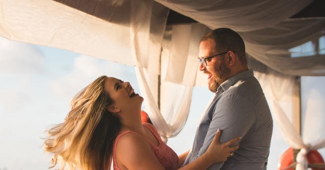 Любопитно Жените предпочитат мъжете да имат малко коремче Според резултатите
