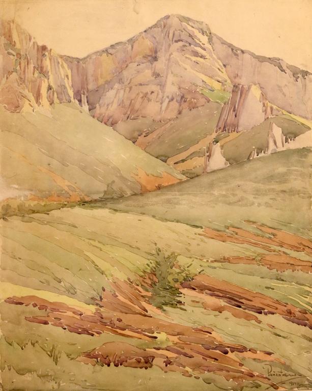 Пейзаж 1914