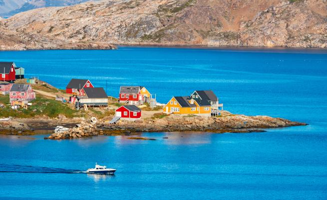 Гренландия – място за любителите на риска и приключенията
