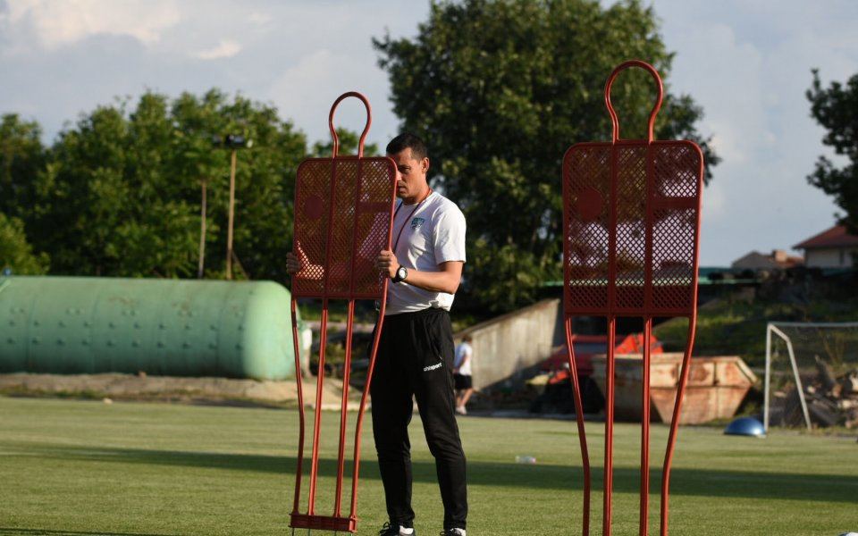 Футболиститена Бероепродължиха своята подготовка на лагера в Банско със следобедно