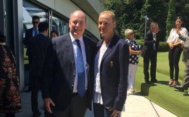 Стефка Костадинова сред легендите на спорта при откриването на Олимпийския дом