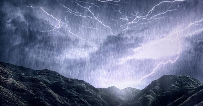 България Оранжев и жълт код за дъжд, кога спира да