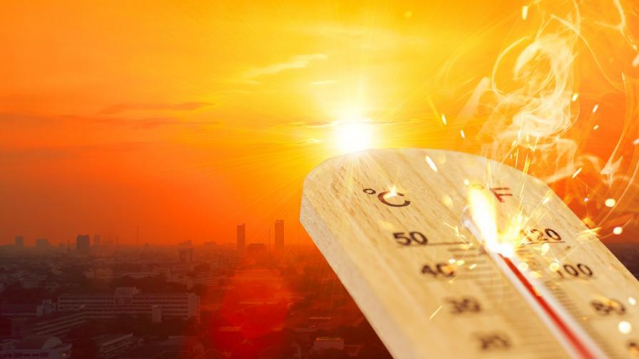 44.2° отчетоха термометрите в Сандански