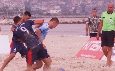 Държавното по плажен футбол стартира с 8 мача в Бургас този уикенд