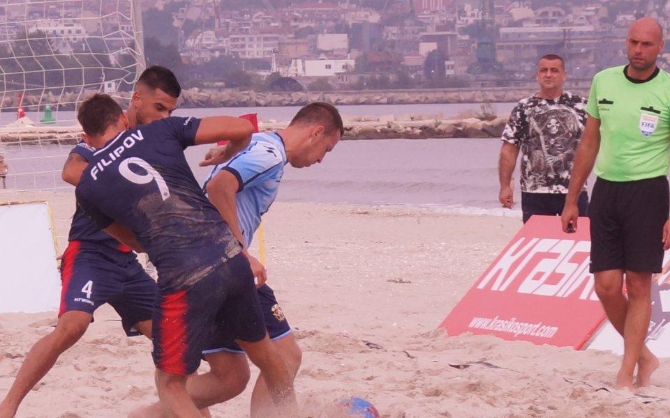 Държавното първенство на България по плажен футбол стартира този уикенд