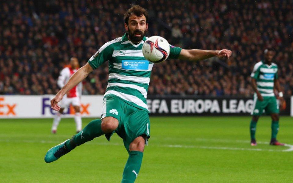 Левски проявява интерес към още един гръцки футболист, твърди агенция