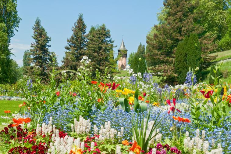 Градините на остров Майнау, Германия