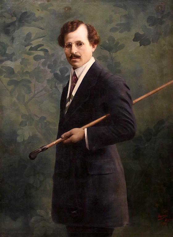 Генчо Митев Автопортрет 1912г