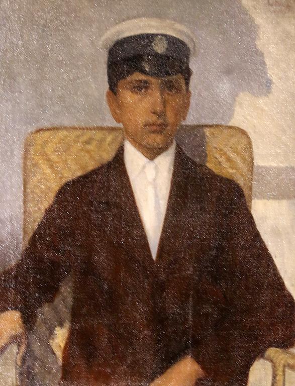 Димо Борисов Портрет на княз Кирил 1916г.