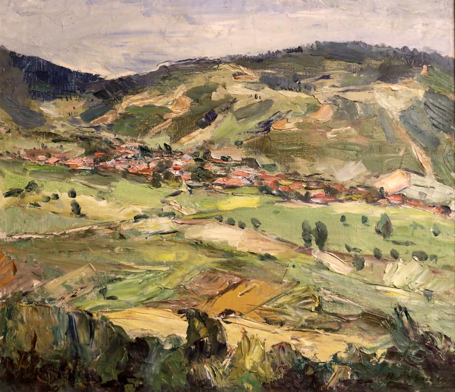 Никола Аръшев Пейзаж 1939г.