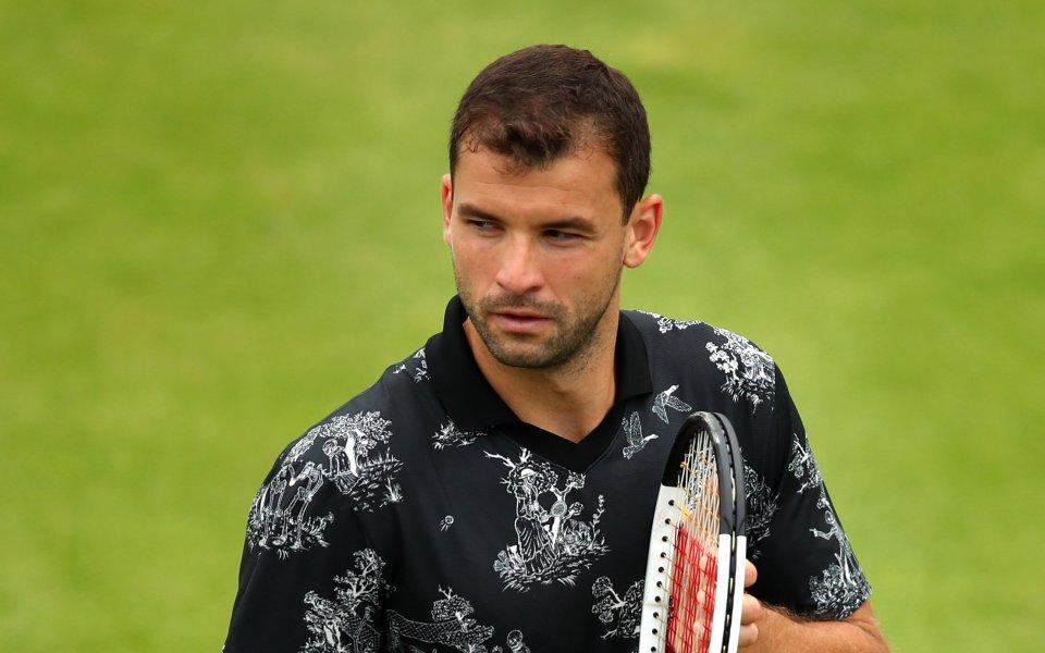 Българският тенисист Григор Димитров стартира с победа участието си на