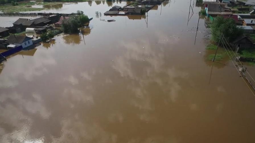 <p>Страшни наводнения в Русия, жертви и изчезнали</p>