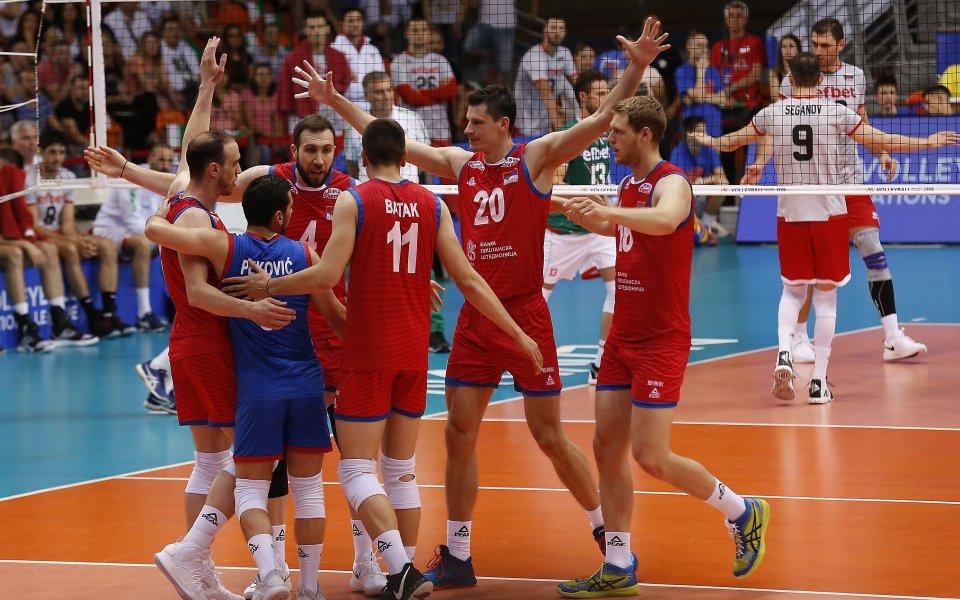 Националния отбор на Сърбия по волейбол стартира с победа на