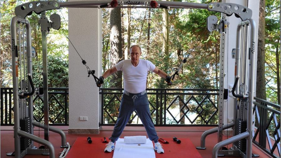 Владимир Путин тренировка фитнес