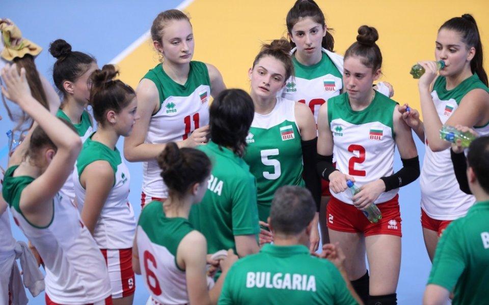 Националният отбор за девойки на 1/2-финал на Балканиадата