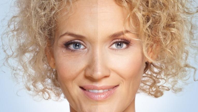 жена лице бръчки старост