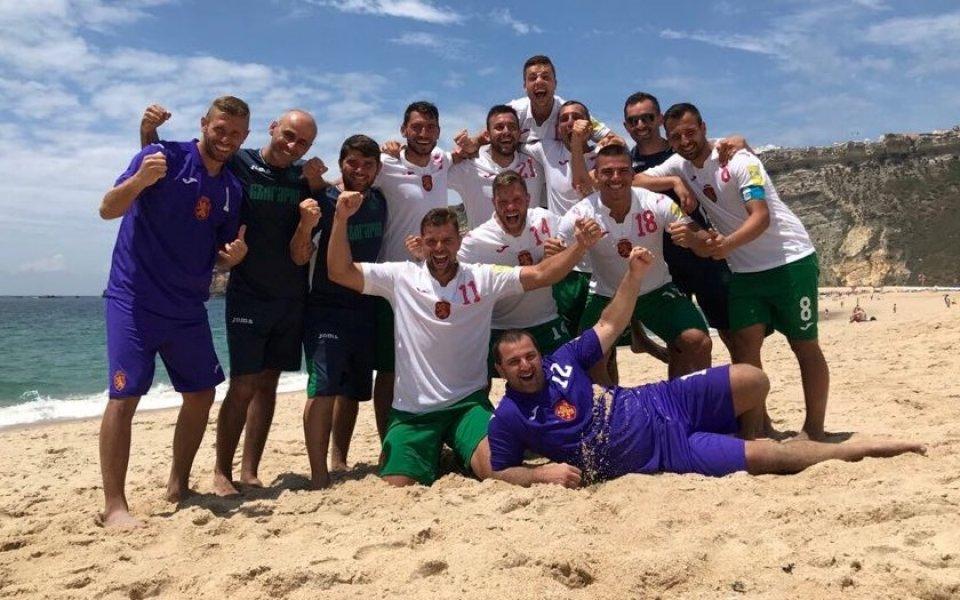 България разби Норвегия и стгна финалите в Евролигата по плажен футбол