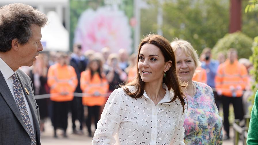 Ето как херцогиня Мидълтън е винаги в добра...